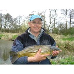 Fish-O-Mania 2006 - Mick Godfrey with one of his Carp from the day