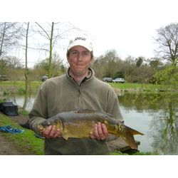 Fish-O-Mania 2006 - Warren Martin with a nice carp
