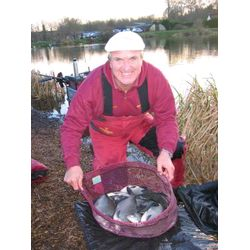 3rd Bob Nudd with 23lb 10ozs from peg 17