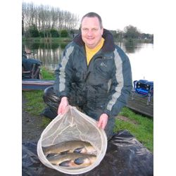 2nd Simon Duffield with 24lb 3ozs from peg 4