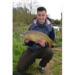 Jack With 8lb Common on Pleaseure lake