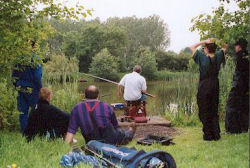 pole fishing with daniel brydon